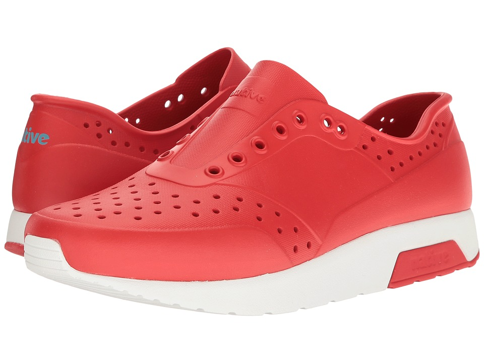 Native Shoes Lennox (Torch Red/Shell White) Athletic Shoes