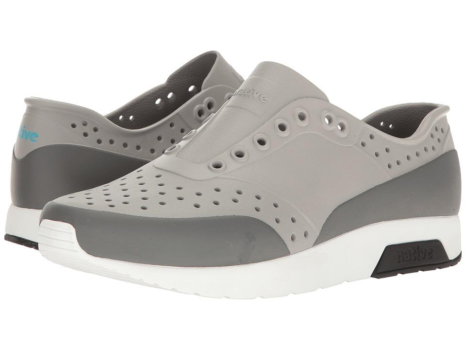 Native Shoes - Lennox (Pigeon Grey/Shell White/Jiffy Black/Dublin Block) Athletic Shoes