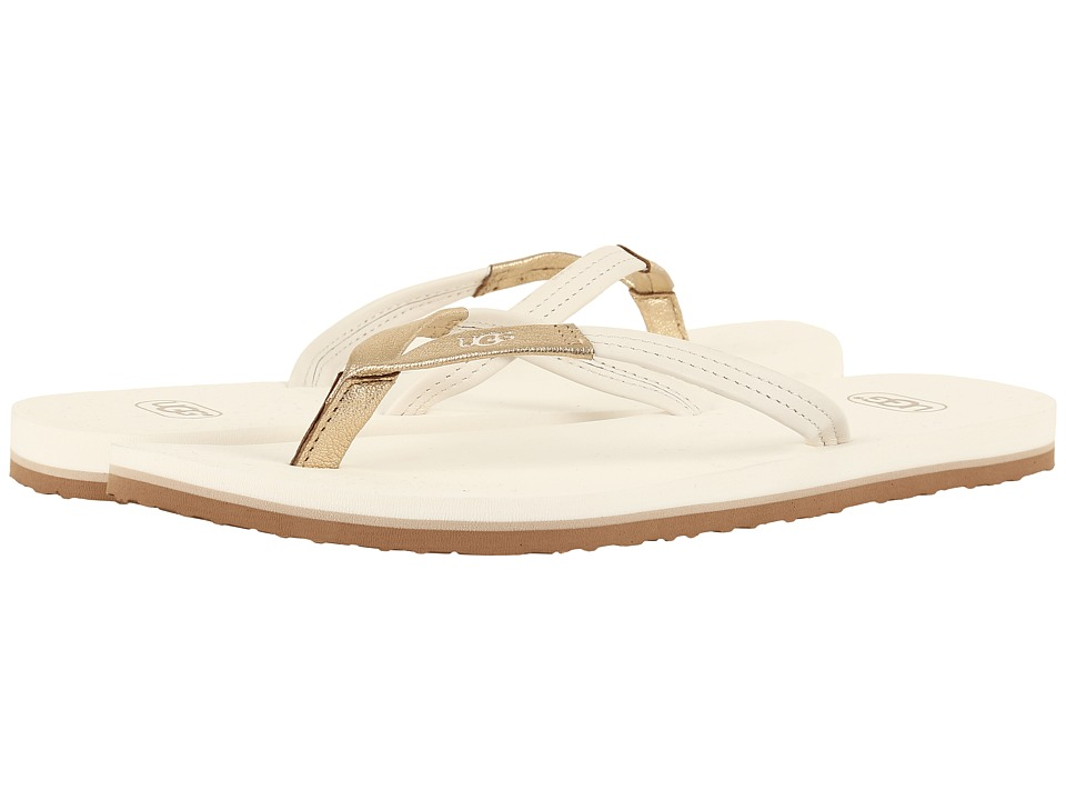 UGG - Magnolia (Water Lily/Gold) Women's Sandals