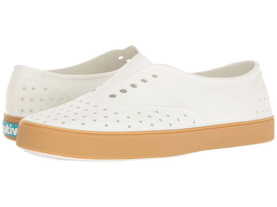 Native Shoes Miller (Shell White/Gum Rubber) Slip on Shoes