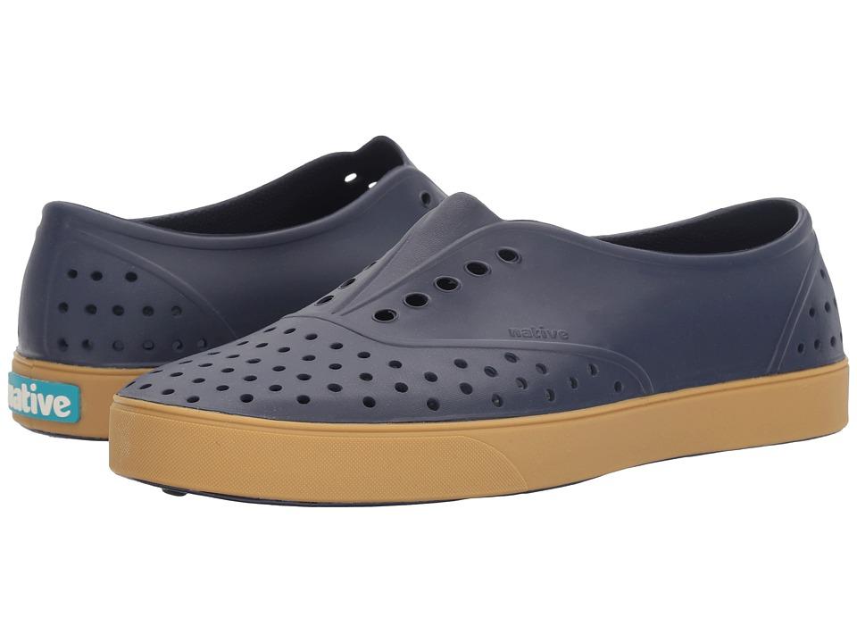 Native Shoes Miller (Regatta Blue/Gum Rubber) Slip on Shoes