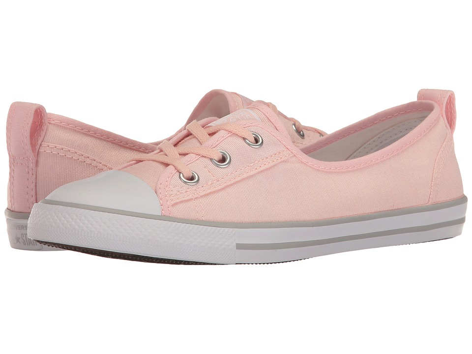 Converse - Chuck Taylor All Star Ballet Lace Slip-On (Vaopr Pink/White/Mouse) Women's Shoes