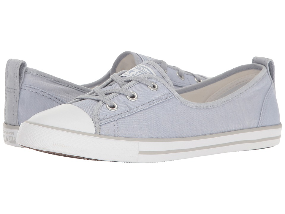 Converse - Chuck Taylor All Star Ballet Lace Slip-On (Blue Granite/White/Mouse) Women's Shoes