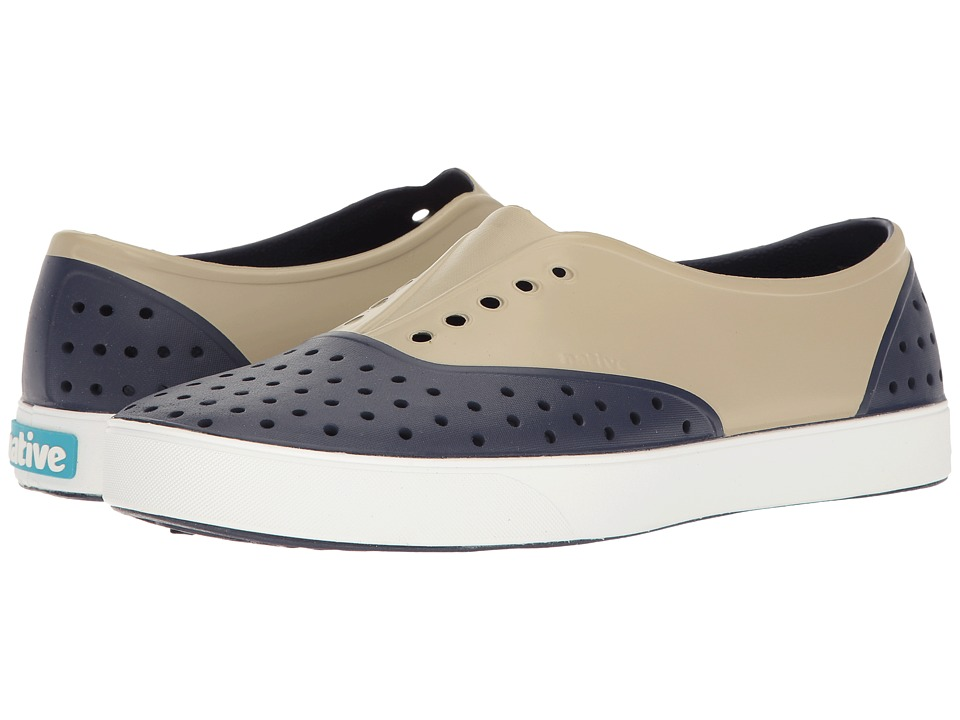 Native Shoes - Miller (Regatta Blue/Shell White/Rocky Block) Slip on Shoes