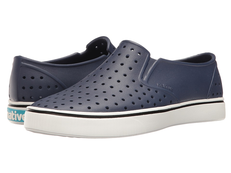 Native Shoes - Miles (Regatta Blue/Shell White) Athletic Shoes