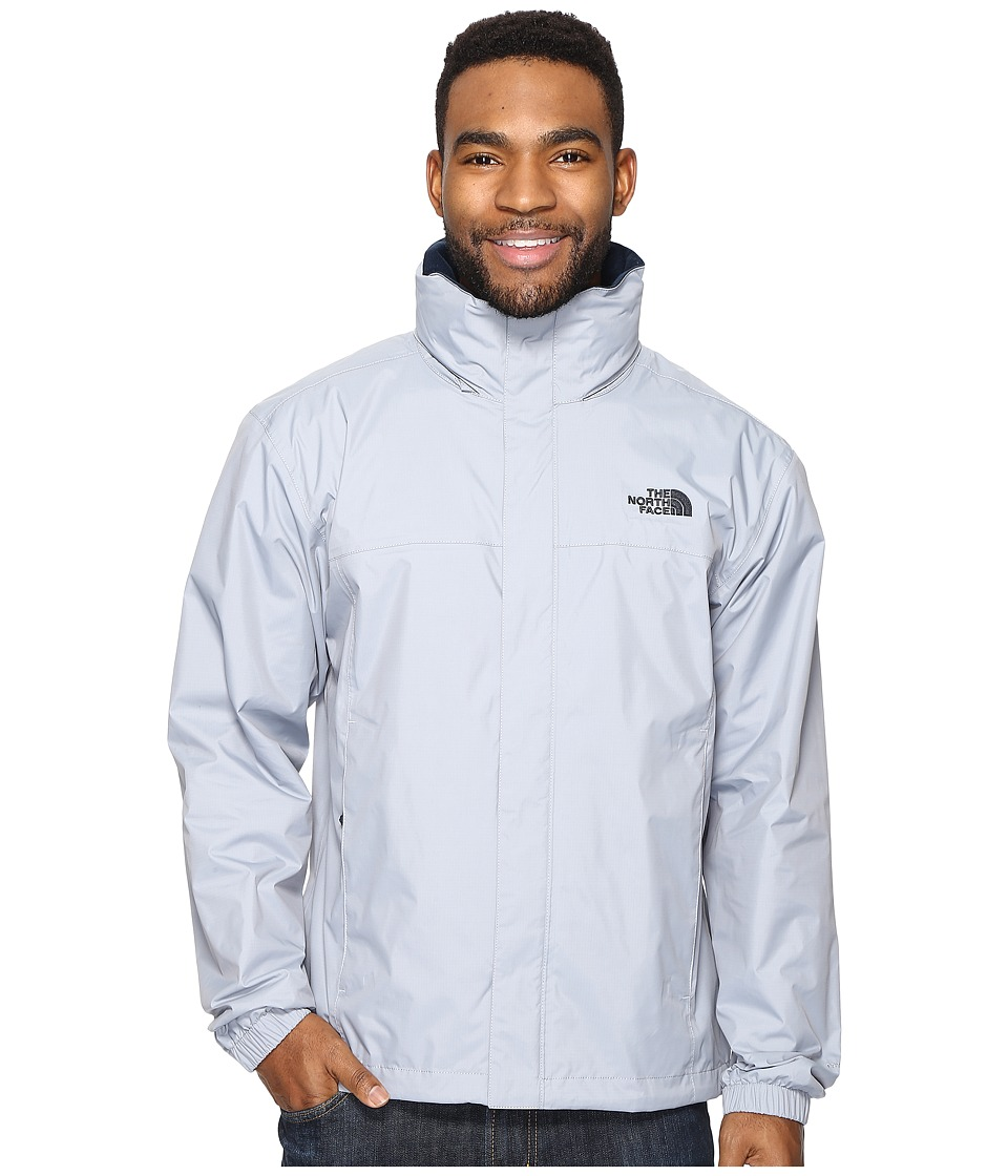 The North Face - Resolve 2 Jacket (Mid Grey/Urban Navy) Men's Coat