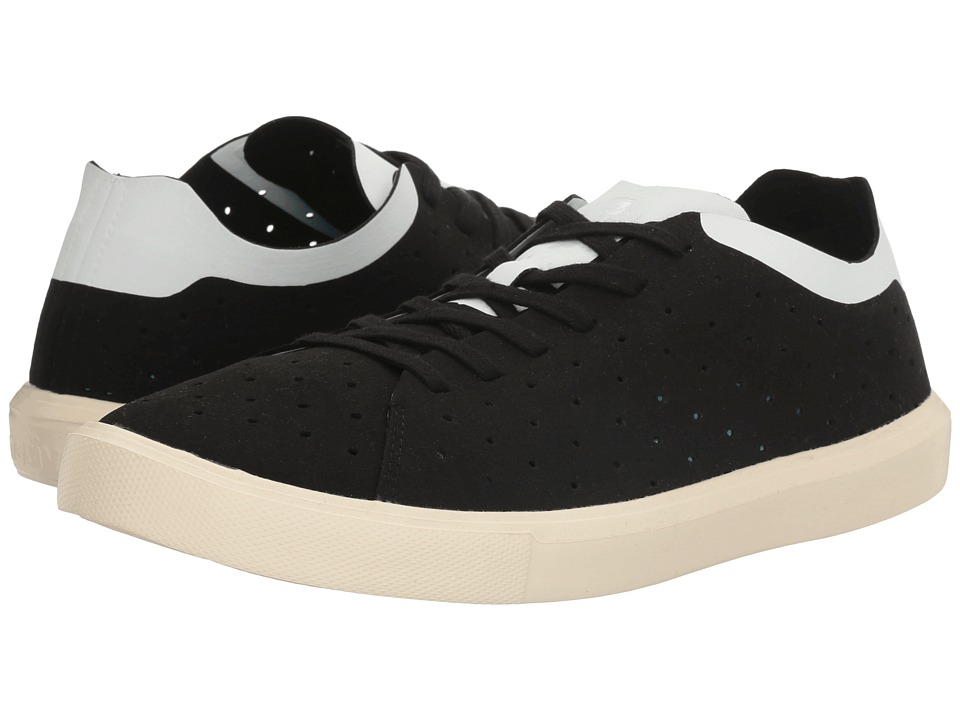Native Shoes - Monaco Low (Jiffy Black/Shell White/Bone White) Lace up casual Shoes