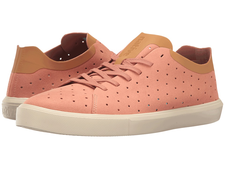 Native Shoes - Monaco Low (Clay Pink/Almond Beige/Bone White) Lace up casual Shoes