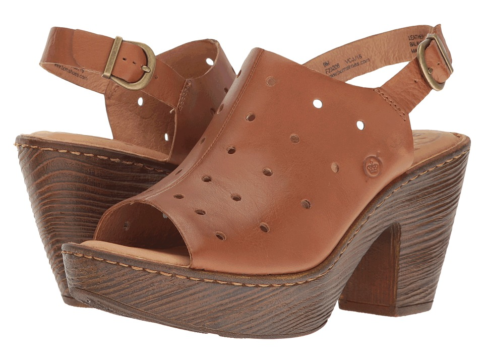 Born Galoa (Brown Full Grain) Women