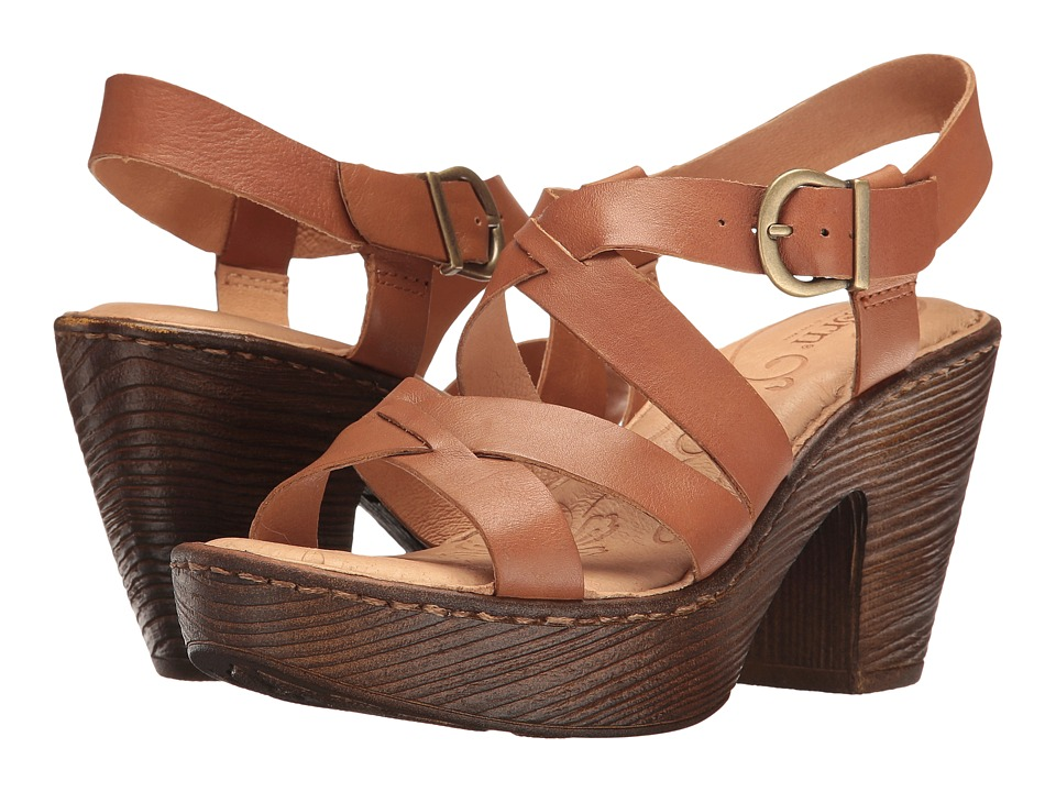 Born Greccia (Brown Full Grain) Women