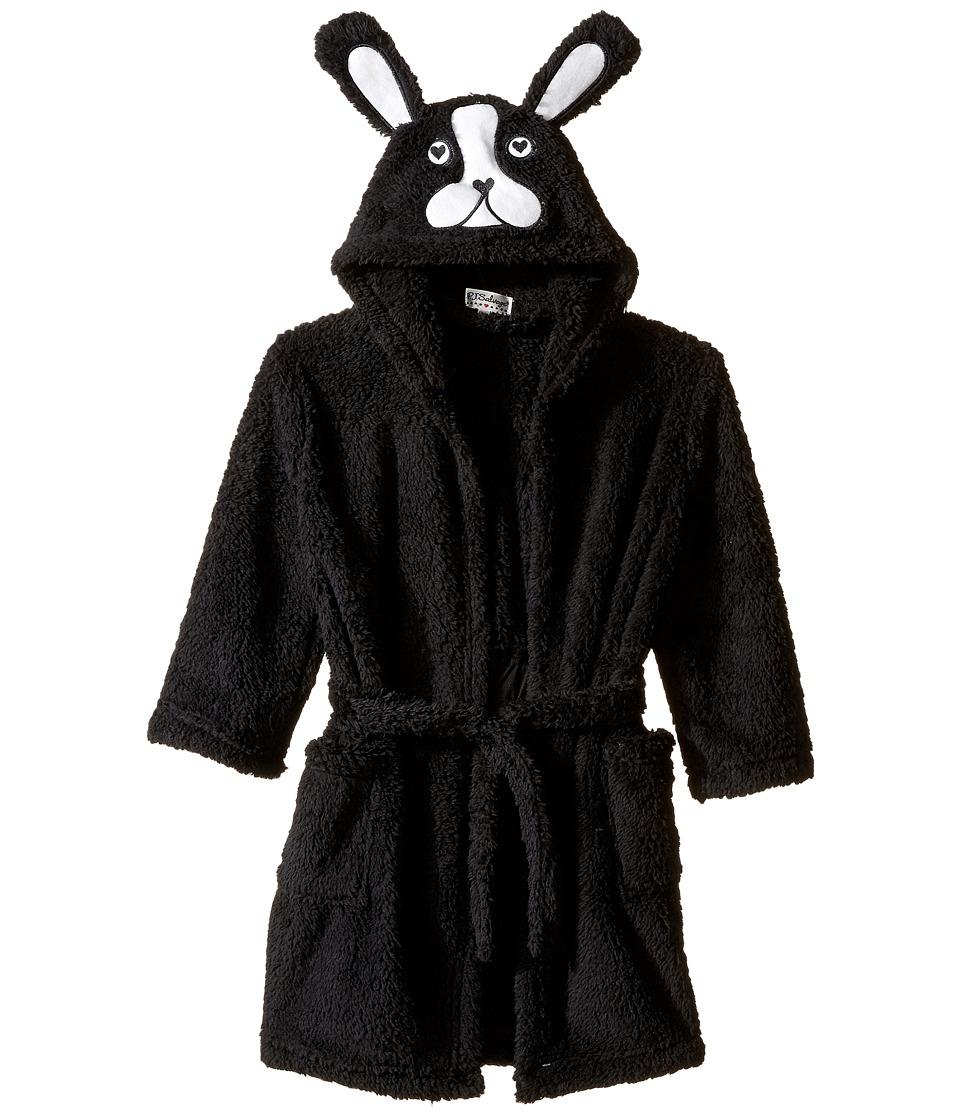 P.J. Salvage Kids - Dog Robe (Toddler/Little Kids/Big Kids) (Black) Girl's Robe
