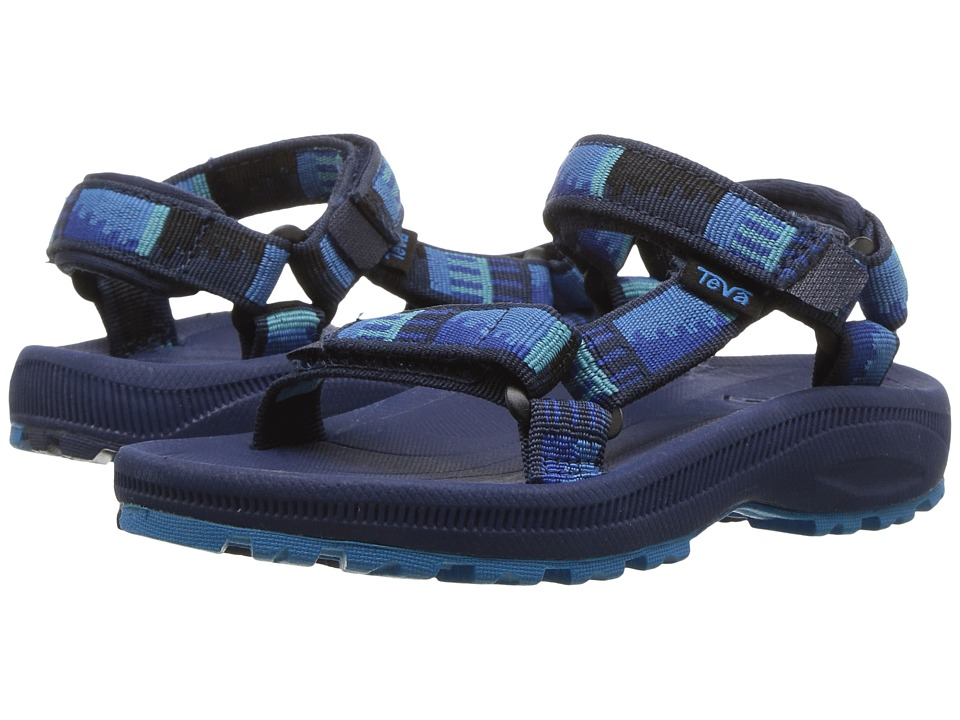 Teva Kids - Hurricane 2 (Toddler) (Peaks Bright Blue/Grey) Boys Shoes