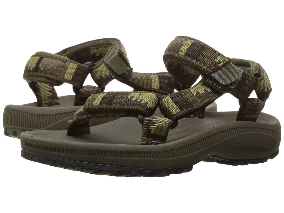 Teva Kids - Hurricane 2 (Toddler) (Peaks Brown/Olive) Boys Shoes