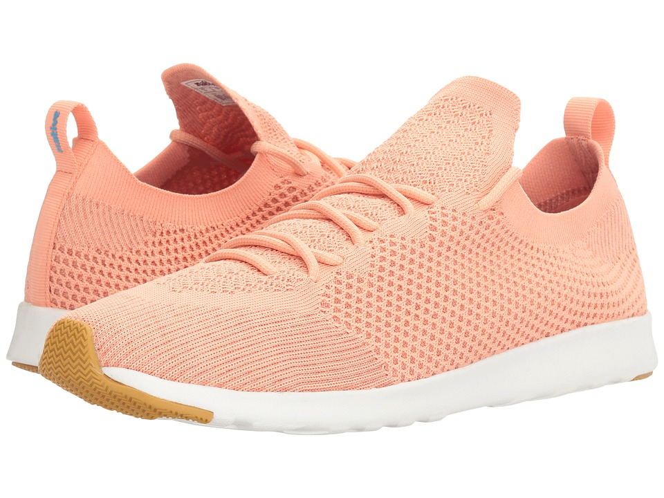 Native Shoes - AP Mercury Liteknit (Clay Pink/Shell White/Natural Rubber) Athletic Shoes