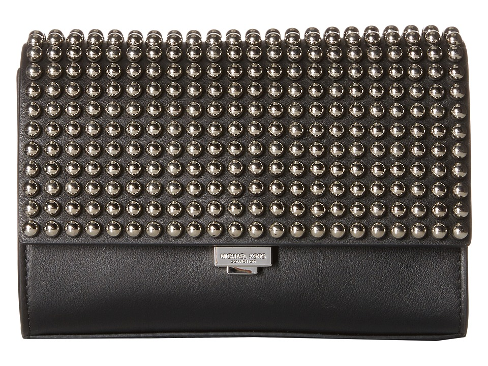 Michael Kors - Yasmeen Sm Clutch (Black/Studs) Handbags