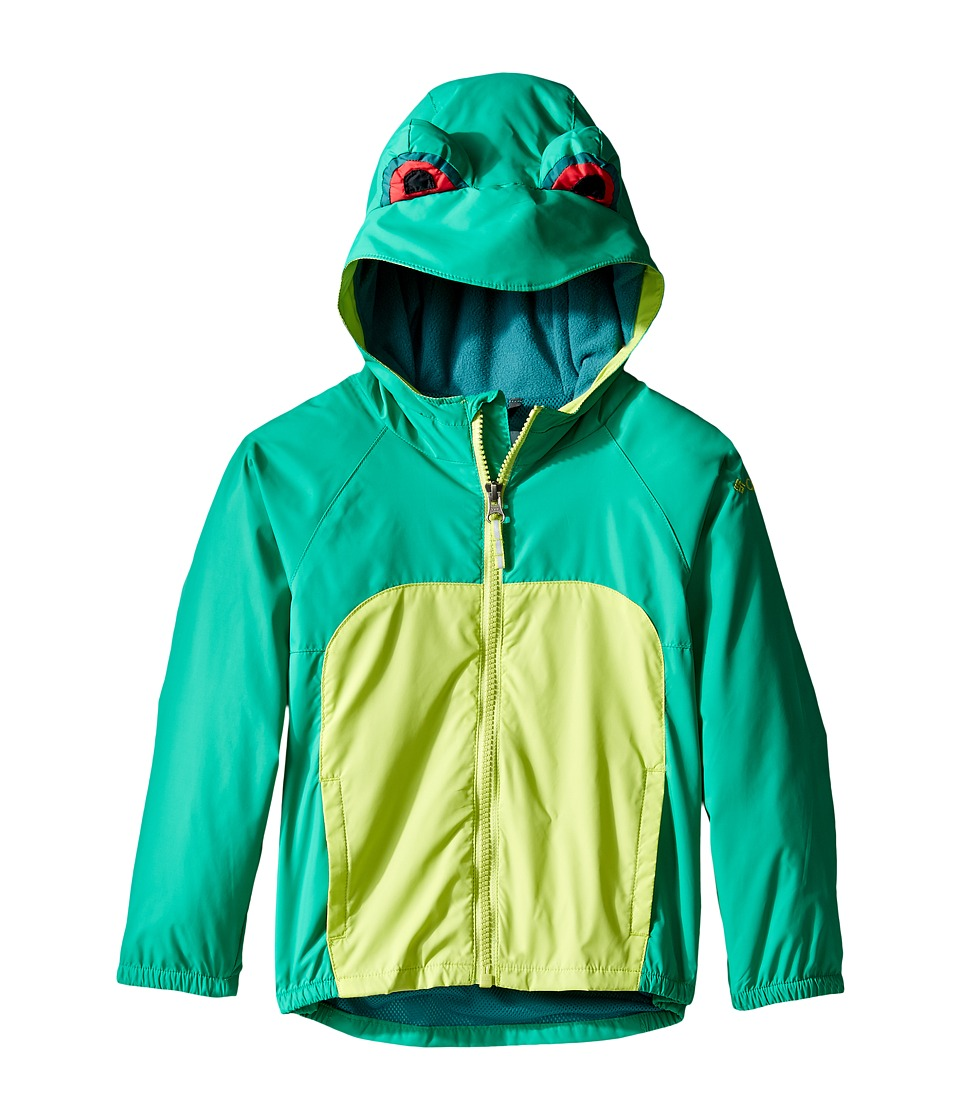 Columbia Kids - Kitteribbit Jacket (Toddler) (Circuit Tree Frog) Boy's Coat