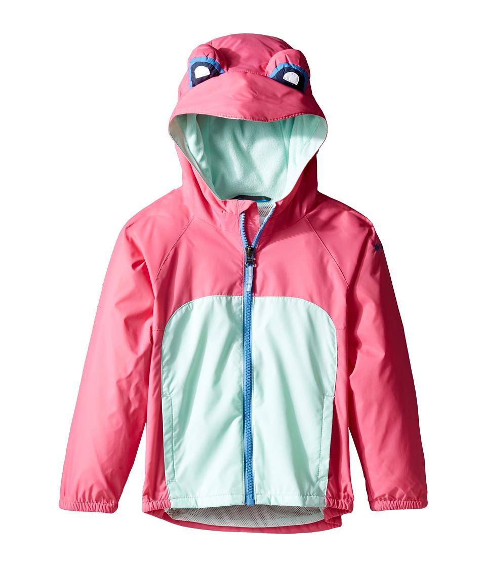 Columbia Kids - Kitteribbit Jacket (Toddler) (Wild Geranium Koi Morph Frog) Girl's Coat