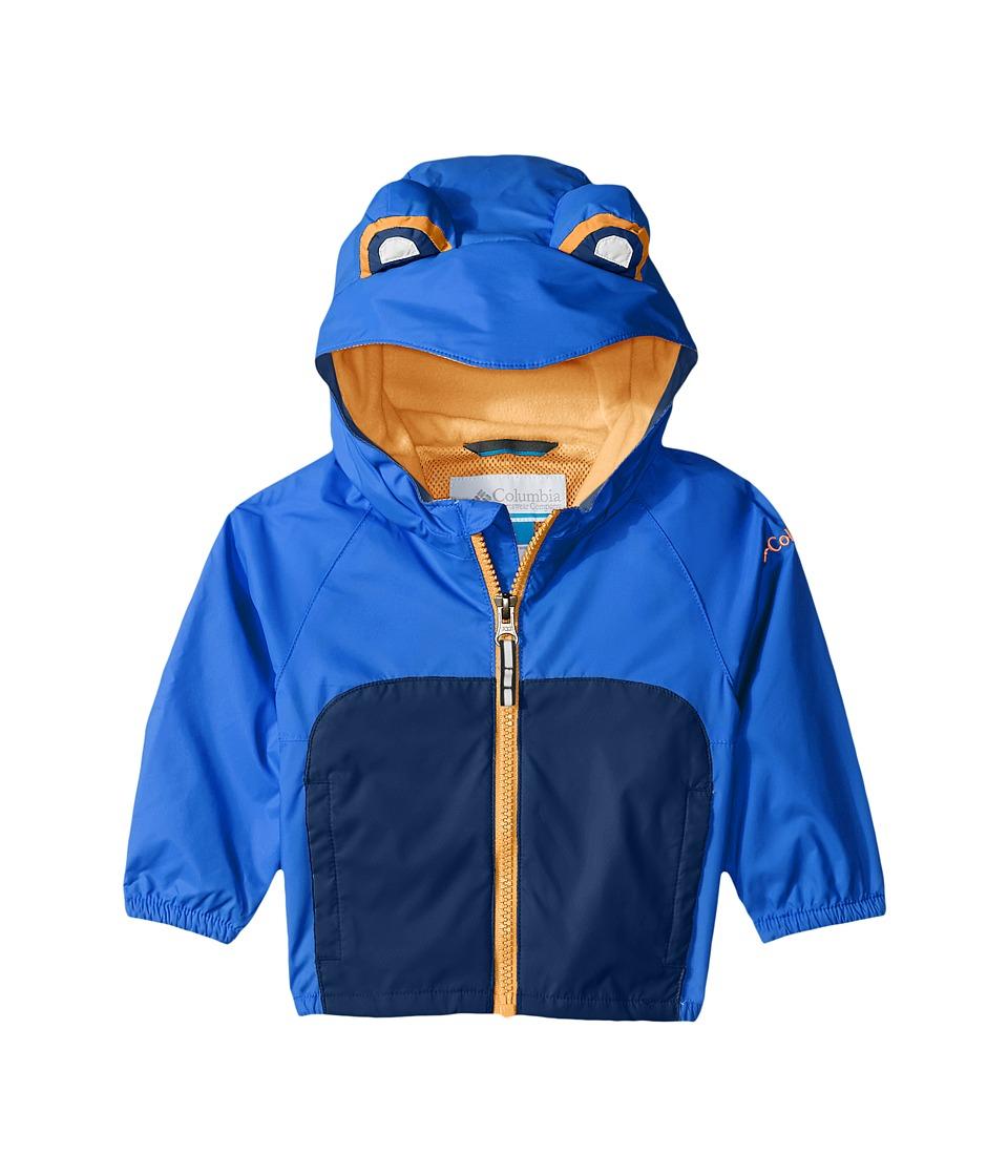 Columbia Kids - Kitteribbit Jacket (Infant) (Super Blue Neon Frog) Kid's Coat