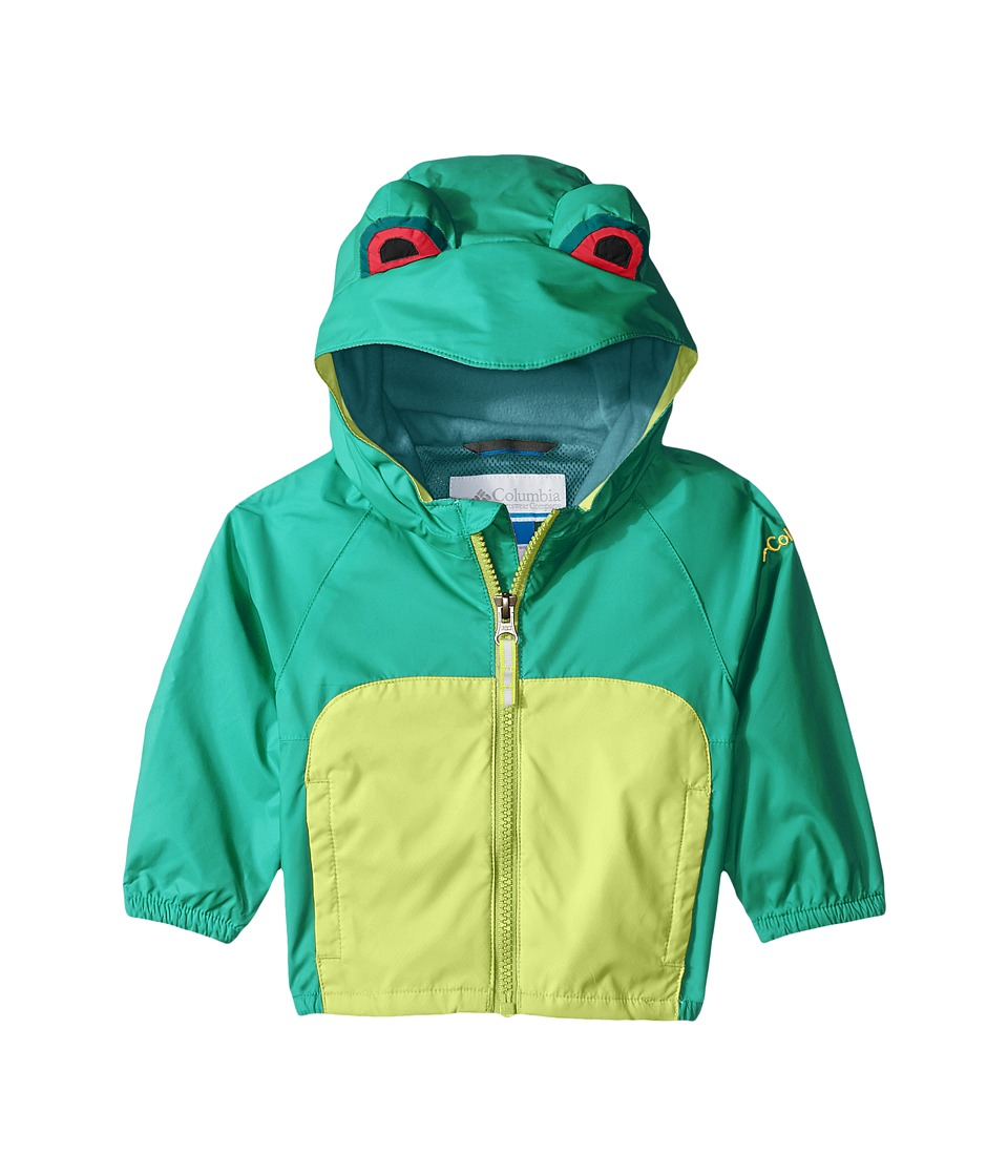 Columbia Kids - Kitteribbit Jacket (Infant) (Circuit Tree Frog) Kid's Coat