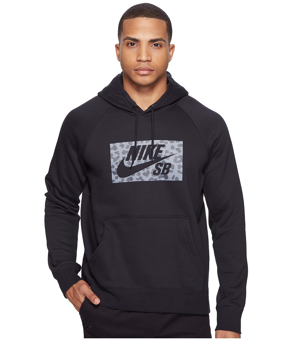 Nike SB - SB Icon Jagmo Hoodie (Black) Men's Sweatshirt