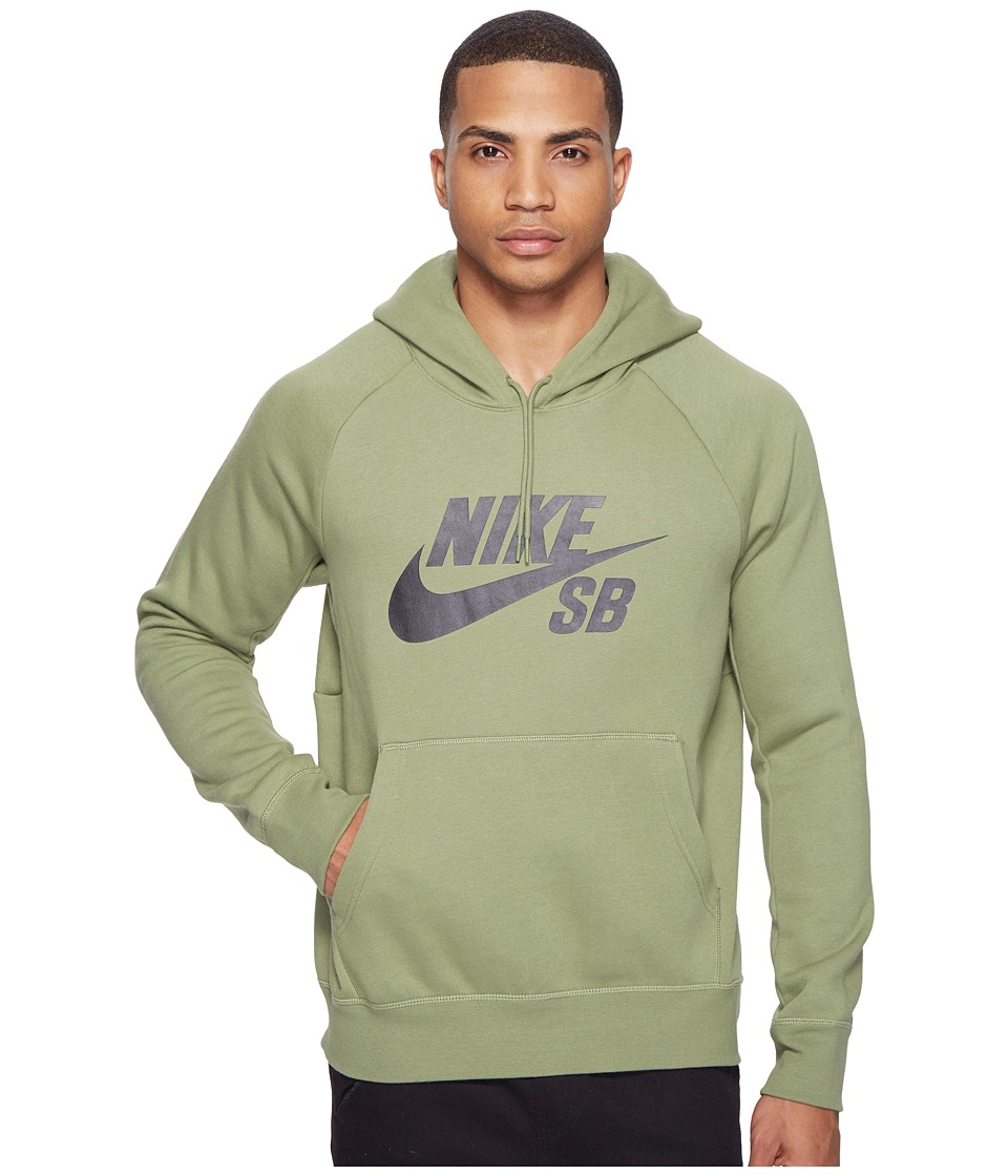 Nike SB - SB Icon Hoodie (Palm Green/Black) Men's Sweatshirt
