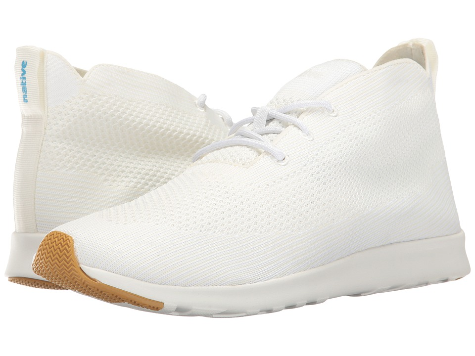 Native Shoes AP Rover Liteknit (Shell White/Shell White/Natural Rubber) Athletic Shoes