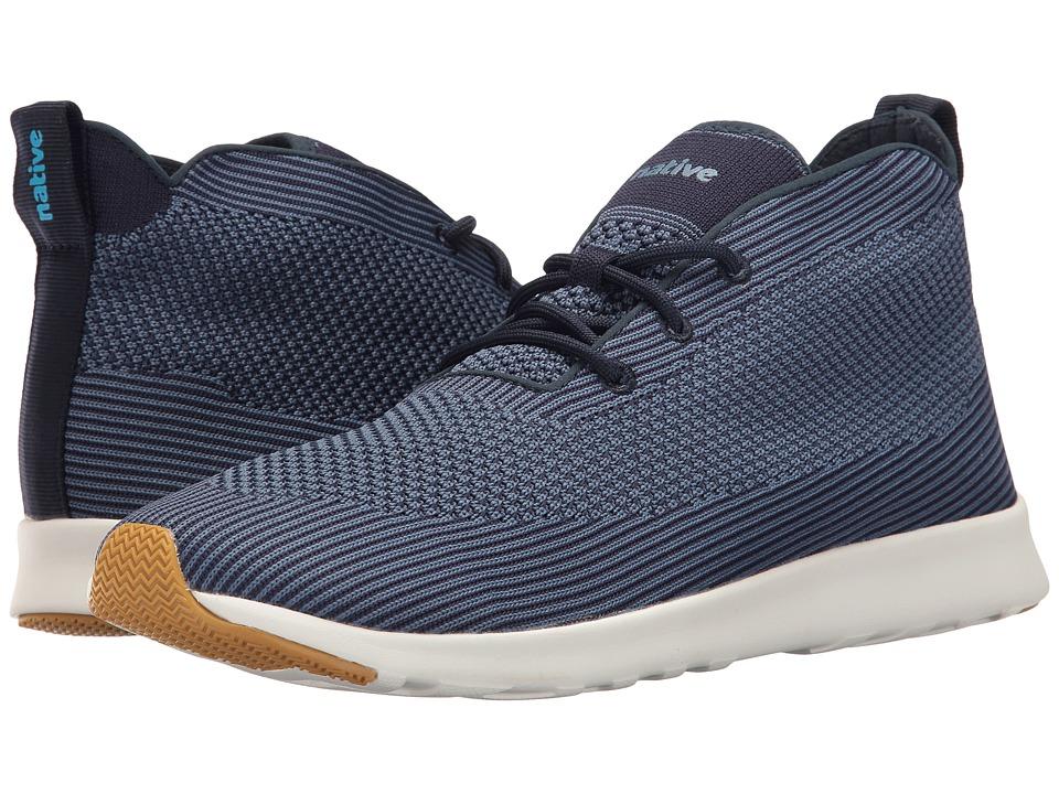 Native Shoes - AP Rover Liteknit (Regatta Blue/Shell White/Natural Rubber) Athletic Shoes