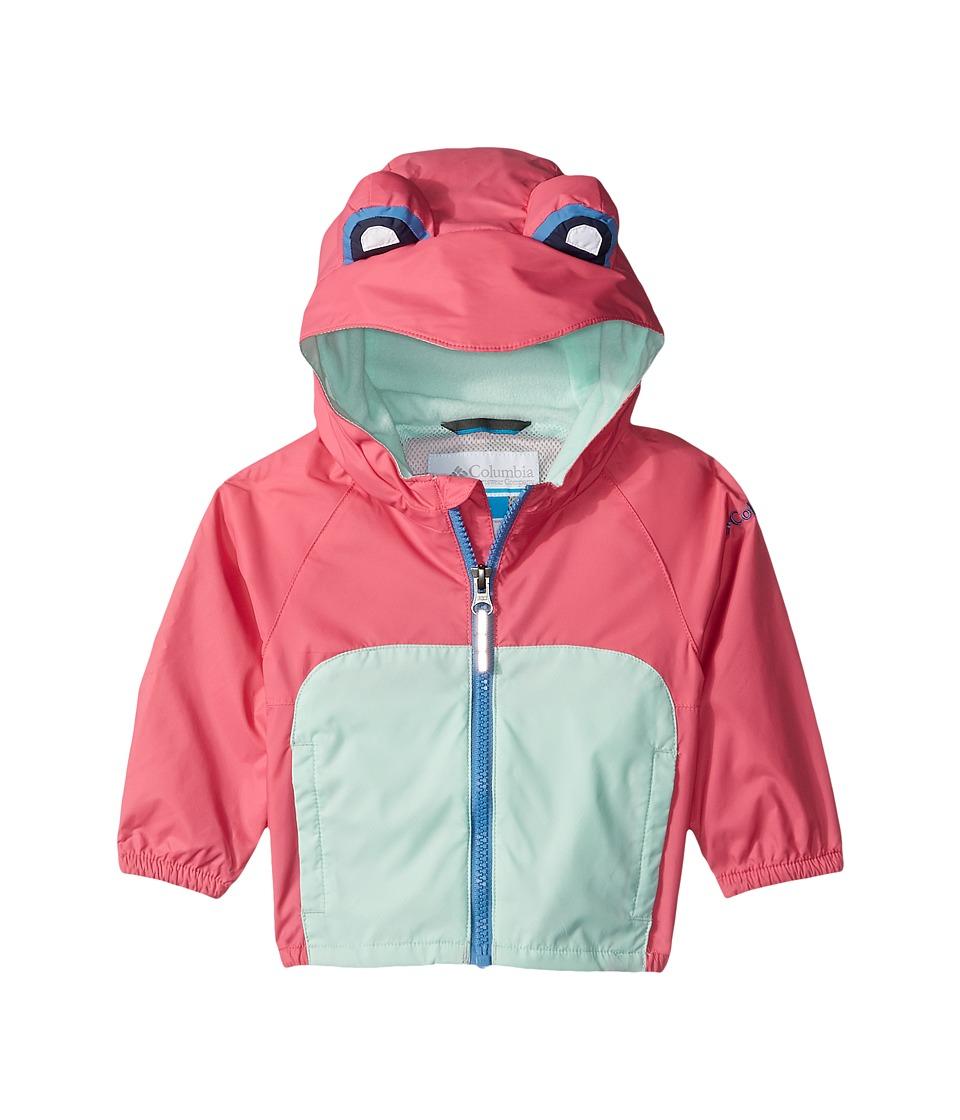 Columbia Kids - Kitteribbit Jacket (Infant) (Wild Geranium Koi Morph Frog) Kid's Coat