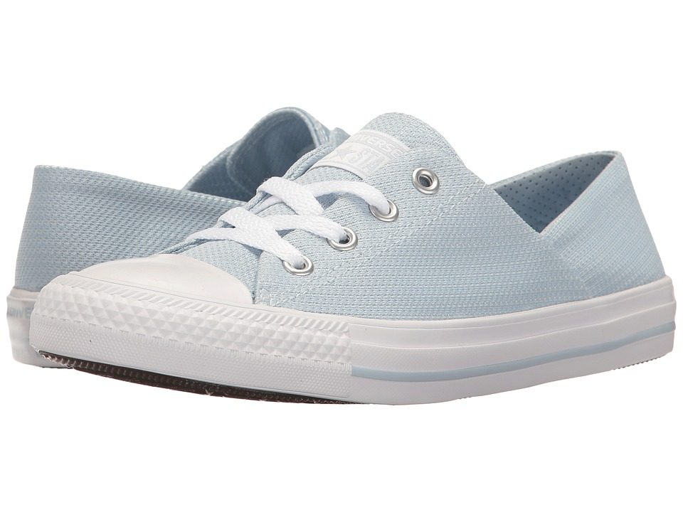 Converse - Chuck Taylor(r) All Star(r) Coral Micro Dot Ox (Porpoise/White/White) Women's Shoes