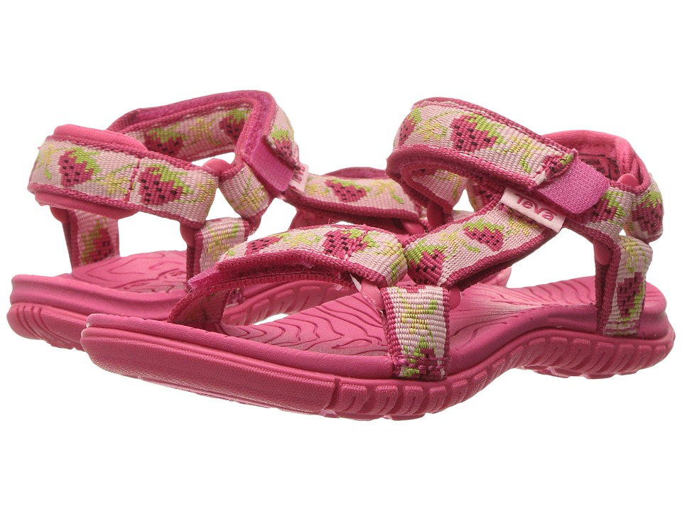 Teva Kids - Hurricane 3 (Toddler) (Strawberry Pink) Girls Shoes