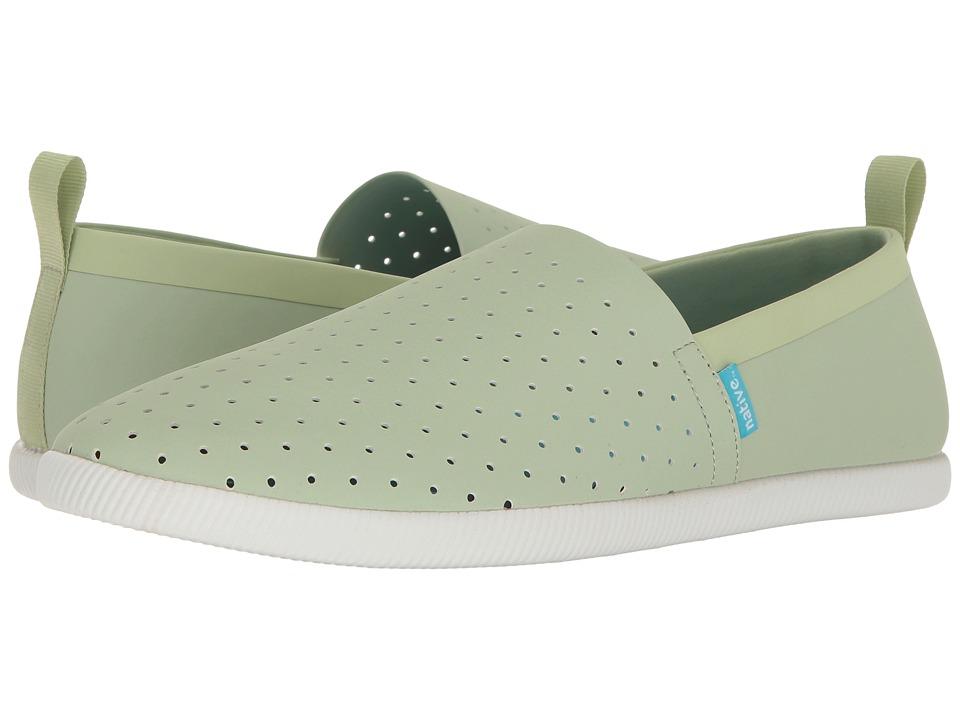 Native Shoes Venice (Tea Green/Shell White) Shoes