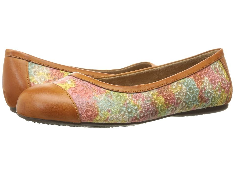 SoftWalk - Napa (Tan) Women's Flat Shoes