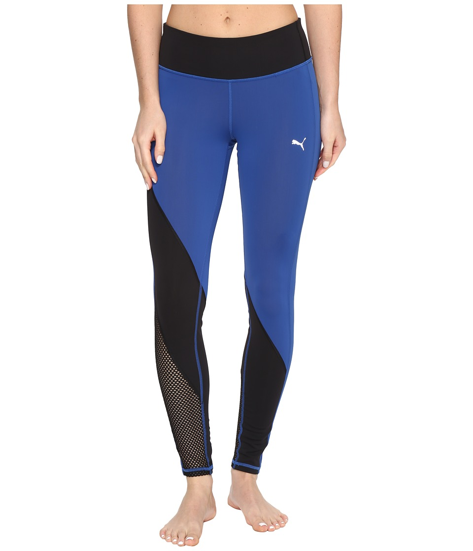PUMA - Explosive Tights (True Blue/Puma Black) Women's Workout
