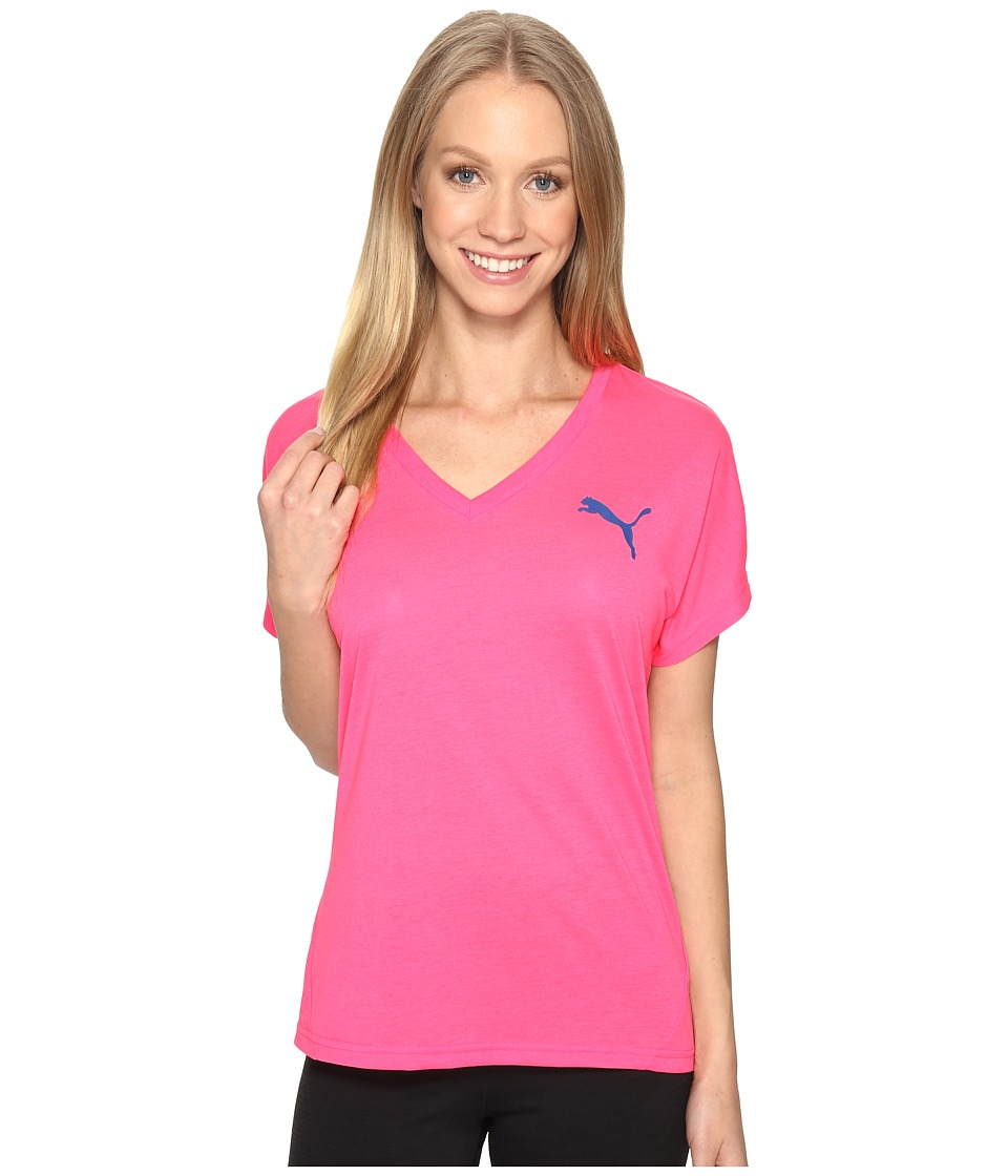 PUMA - Elevated Sporty Tee (Knockout Pink) Women's T Shirt
