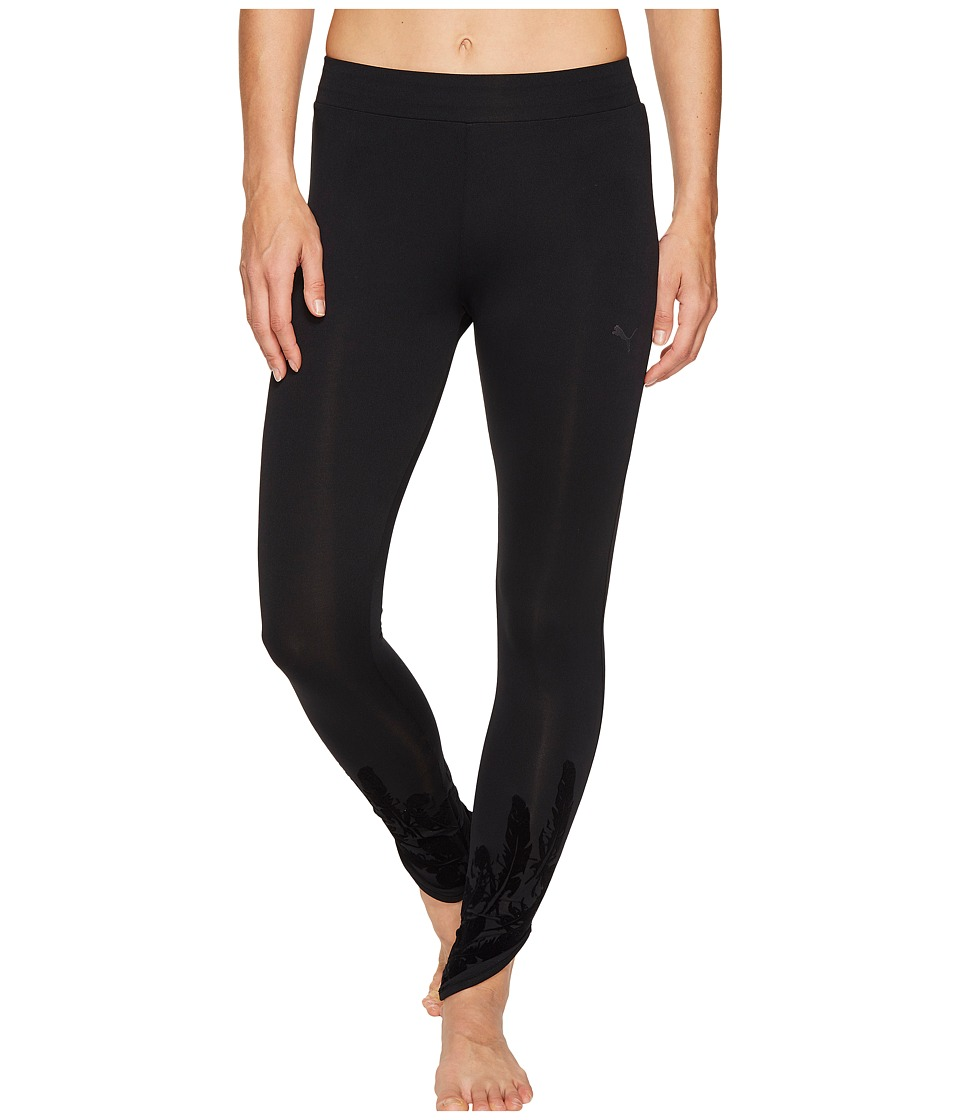 PUMA - Swan Leggings (PUMA Black) Women's Workout