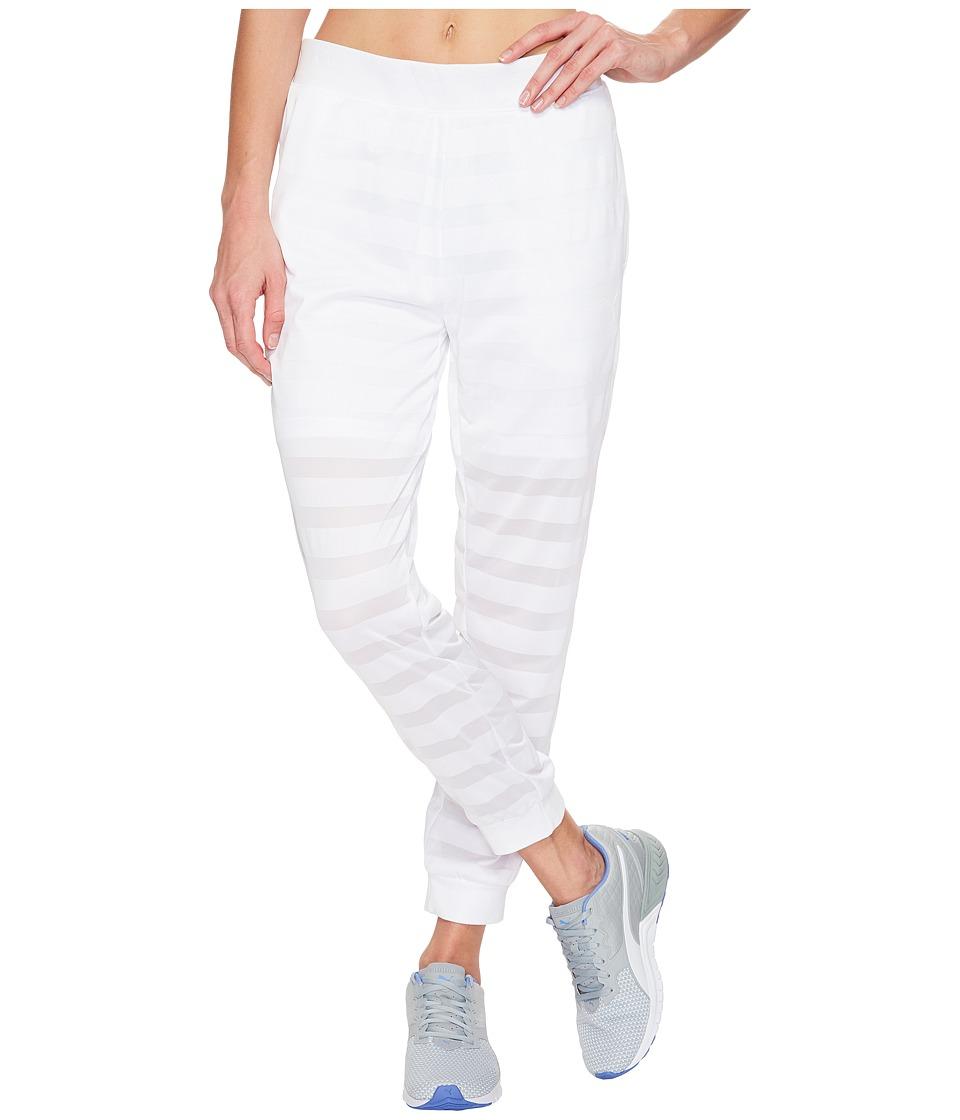 PUMA - Burnout Pants (PUMA White) Women's Workout
