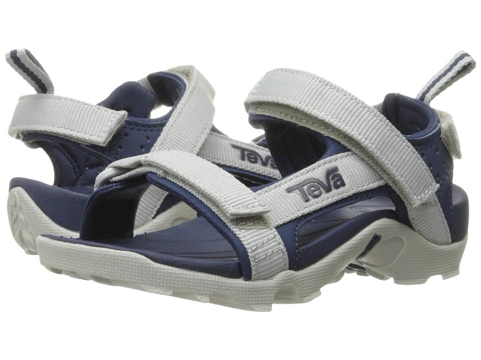 Teva Kids - Tanza (Toddler/Little Kid/Big Kid) (Grey/Navy) Boys Shoes