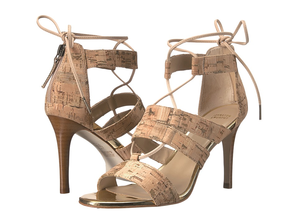 Johnston & Murphy - Natasha (Natural Cork) High Heels