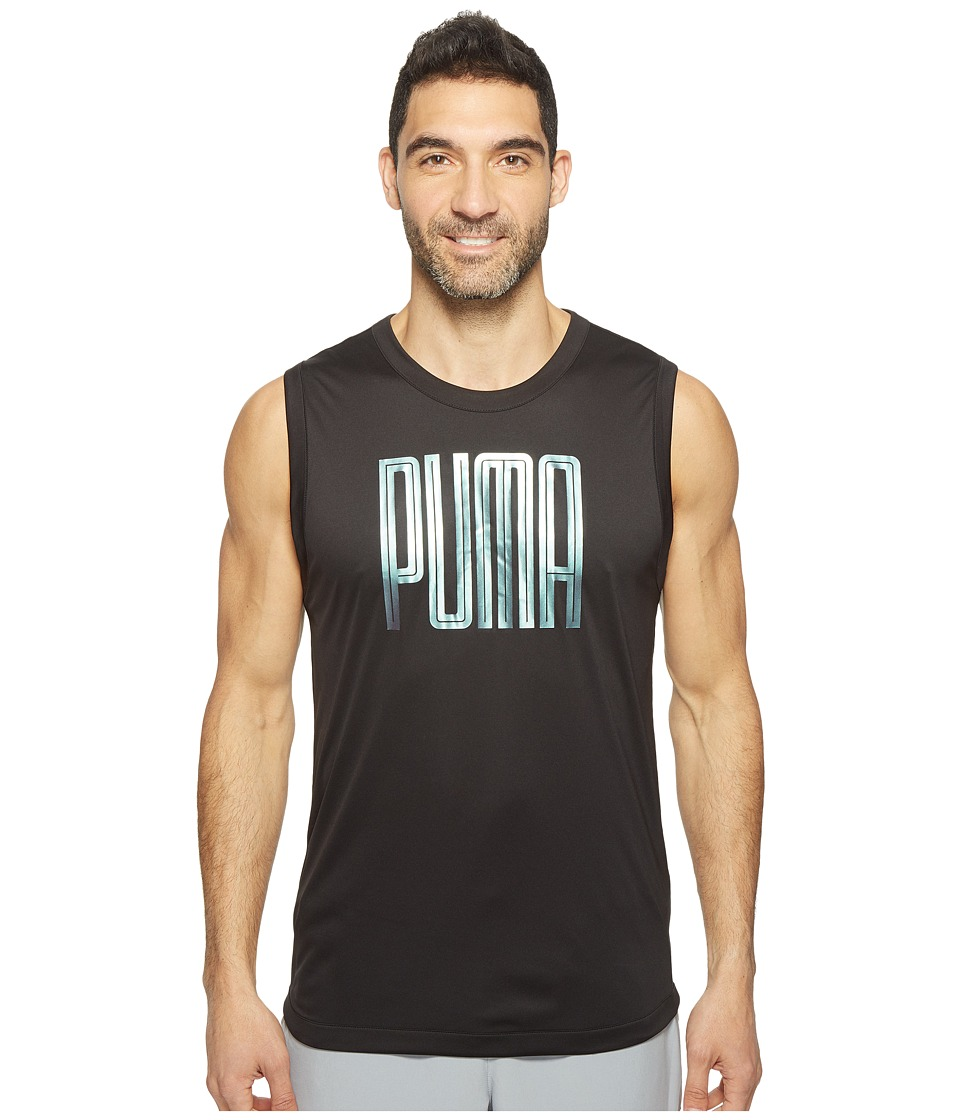PUMA - Training Sleeveless Top (Puma Black/Puma Black) Men's Sleeveless