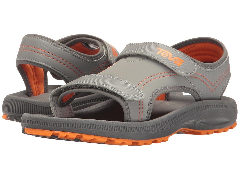 Teva Kids Psyclone 4 (Little Kid) (Grey/Orange) Boys Shoes