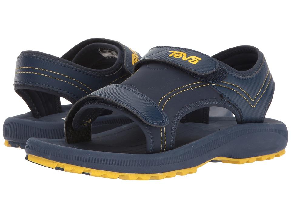 Teva Kids Psyclone 4 (Little Kid) (Navy/Yellow) Boys Shoes