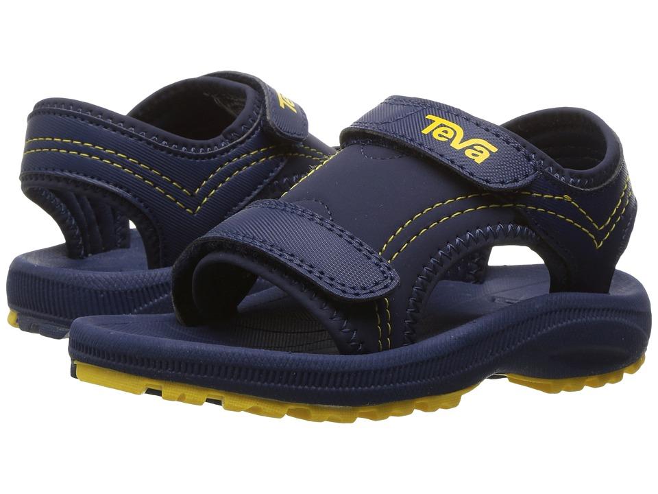 Teva Kids - Psyclone 4 (Toddler) (Navy/Yellow) Boys Shoes