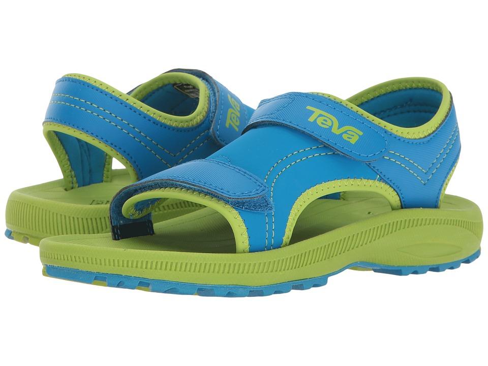 Teva Kids Psyclone 4 (Little Kid) (Blue/Green) Boys Shoes
