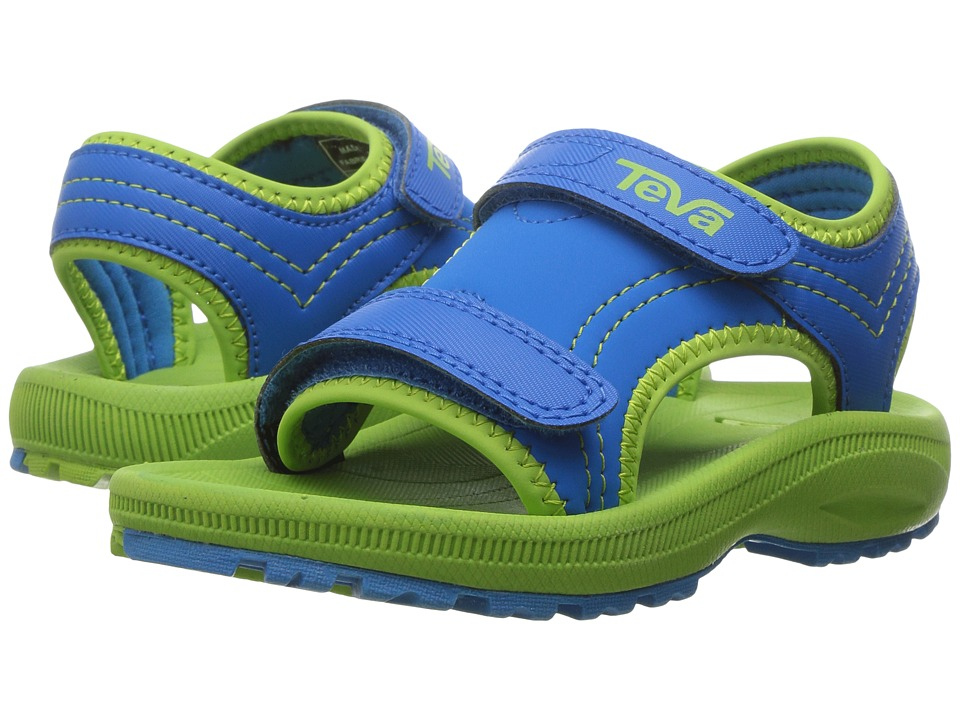 Teva Kids - Psyclone 4 (Toddler) (Blue/Green) Boys Shoes