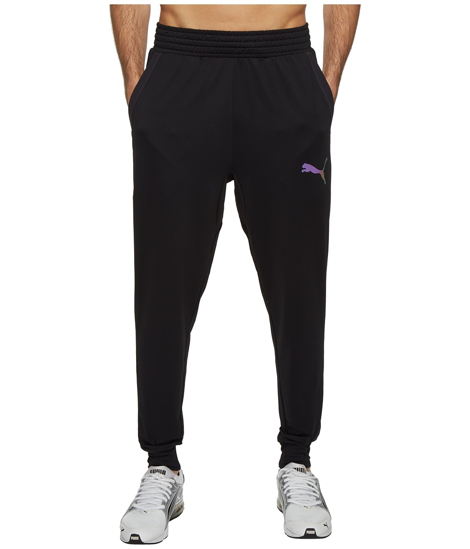 PUMA - Tech Fleece Trackster (PUMA Black) Men's Workout