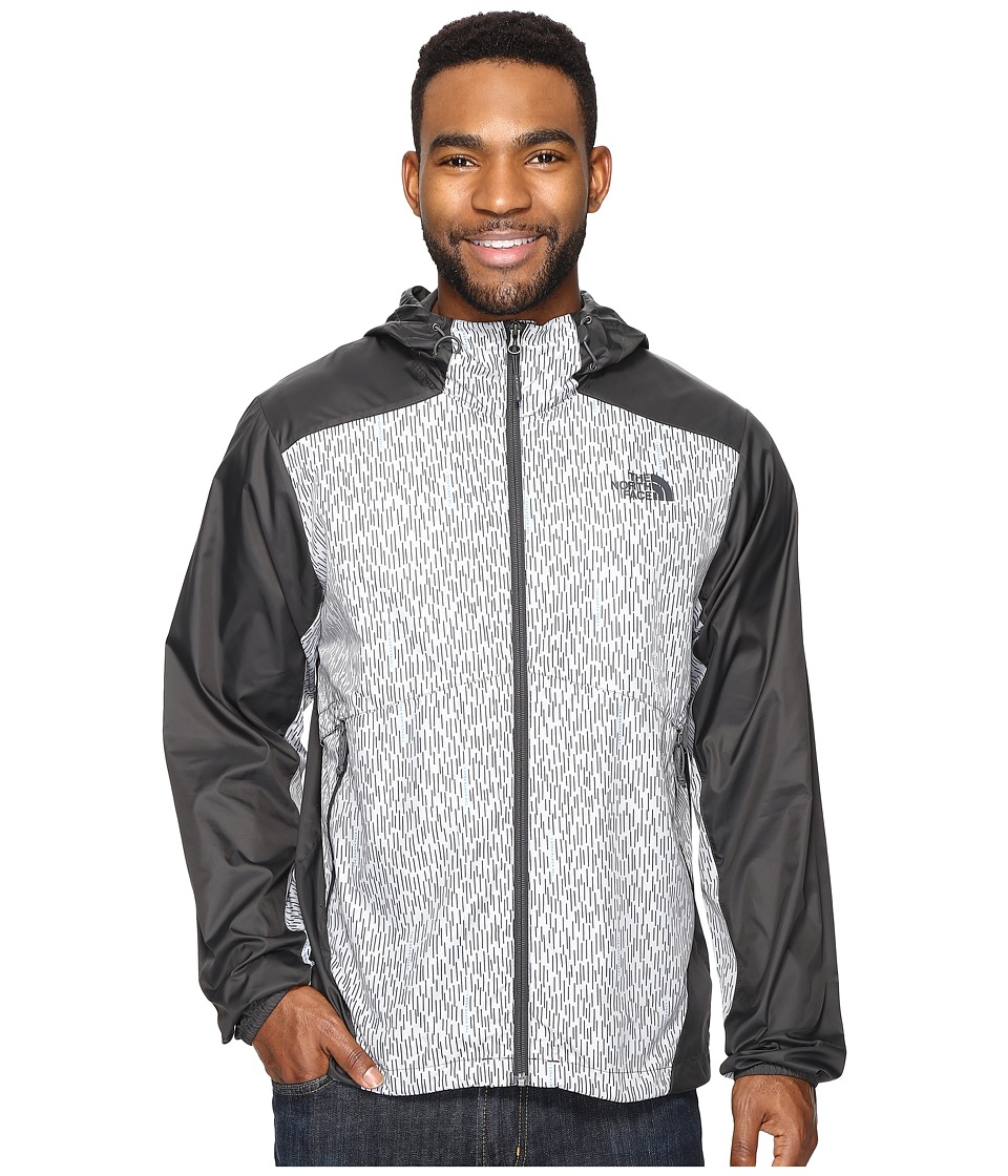 The North Face - Flyweight Hoodie (Asphalt Grey Reign Camo Print/Asphalt Grey (Prior Season)) Men's Sweatshirt