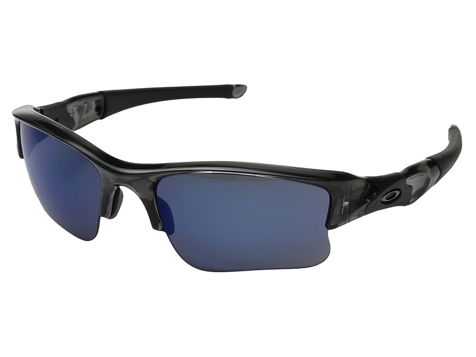 Oakley - MPH Flak Jacket XLJ (Grey Smoke w/ Ice Iridium) Sport Sunglasses