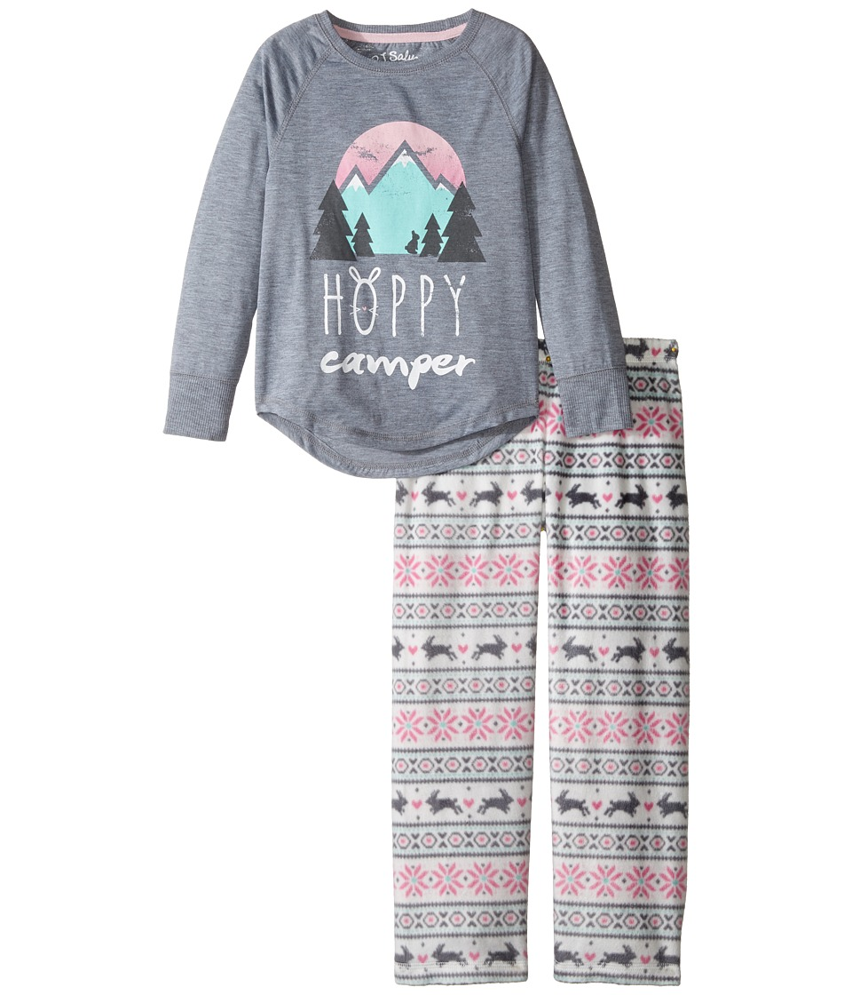 P.J. Salvage Kids - Snow Bunny Sleep Set (Toddler/Little Kids/Big Kids) (Ivory) Girl's Pajama Sets