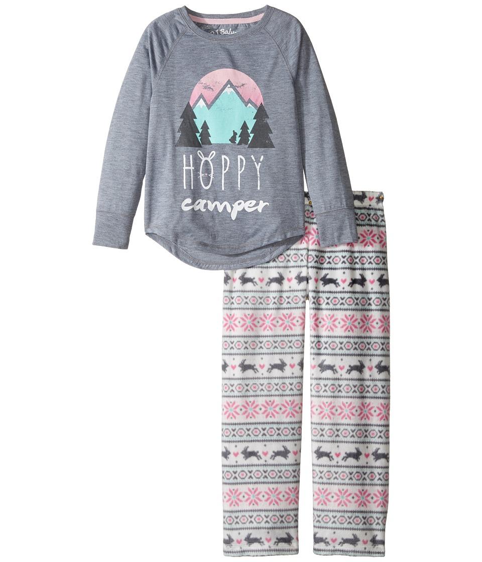 P.J. Salvage Kids - Snow Bunny Sleep Set (Toddler/Little Kids/Big Kids) (Ivory) Girl's Pajama Sets