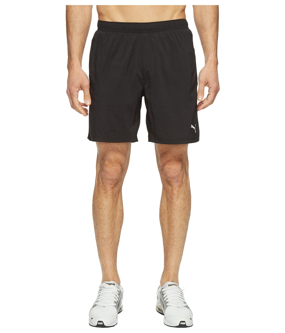 PUMA - Core-Run 7 Shorts (PUMA Black) Men's Shorts